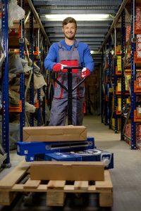 Bezpieczna Praca z Wózkiem Paletowym- Palletruck
