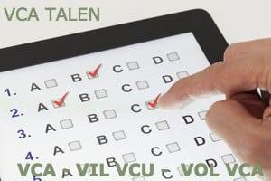 VCA Proefexamens