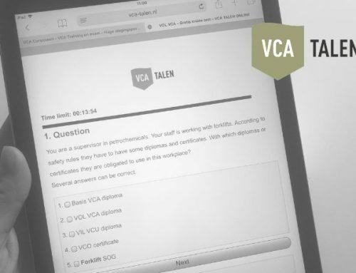 VOL VCA proefexamen beschikbaar op onze website