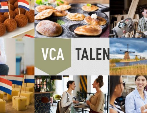 New in the VCA TALEN offer – language courses